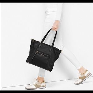 Michael Kors Ariana Large Nylon tote black